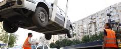 Ridicarea autoturismelor ilegala in sectoarele 4 si 6 ale Capitalei
